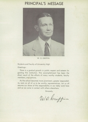 Page 9, 1956 Edition, University High School - Spirit Yearbook (Waco, TX) online yearbook collection