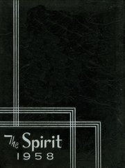 Page 1, 1958 Edition, University High School - Spirit Yearbook (Waco, TX) online yearbook collection