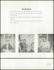 Page 9, 1958 Edition, University High School - Spirit Yearbook (Waco, TX) online yearbook collection