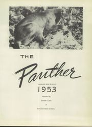 Page 7, 1953 Edition, Mabank High School - Panther Yearbook (Mabank, TX) online yearbook collection