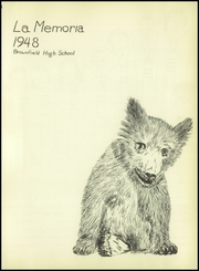 Page 5, 1948 Edition, Brownfield High School - Cub Yearbook (Brownfield, TX) online yearbook collection