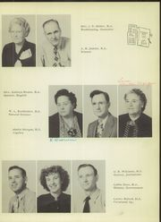 Page 13, 1951 Edition, Brownfield High School - Cub Yearbook (Brownfield, TX) online yearbook collection