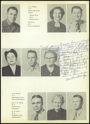 Page 15, 1953 Edition, Brownfield High School - Cub Yearbook (Brownfield, TX) online yearbook collection