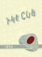 Page 1, 1954 Edition, Brownfield High School - Cub Yearbook (Brownfield, TX) online yearbook collection