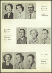 Page 14, 1954 Edition, Brownfield High School - Cub Yearbook (Brownfield, TX) online yearbook collection