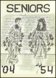 Page 17, 1954 Edition, Brownfield High School - Cub Yearbook (Brownfield, TX) online yearbook collection