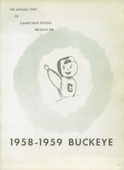 Page 5, 1959 Edition, Gilmer High School - Buckeye Yearbook (Gilmer, TX) online yearbook collection