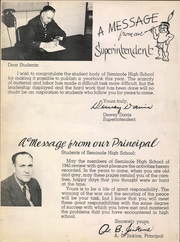 Page 12, 1945 Edition, Seminole High School - Tepee Yearbook (Seminole, TX) online yearbook collection