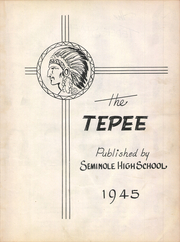 Page 7, 1945 Edition, Seminole High School - Tepee Yearbook (Seminole, TX) online yearbook collection
