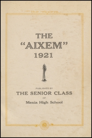 Page 3, 1921 Edition, Mexia High School - Black Cat Yearbook (Mexia, TX) online yearbook collection