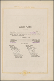 Page 33, 1921 Edition, Mexia High School - Black Cat Yearbook (Mexia, TX) online yearbook collection