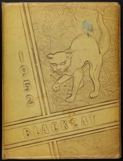 1952 Edition, Mexia High School - Black Cat Yearbook (Mexia, TX)