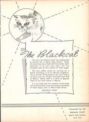 Page 9, 1952 Edition, Mexia High School - Black Cat Yearbook (Mexia, TX) online yearbook collection