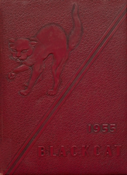 1955 Edition, Mexia High School - Black Cat Yearbook (Mexia, TX)