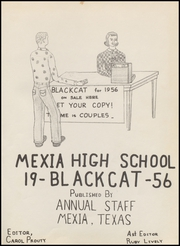 Page 5, 1956 Edition, Mexia High School - Black Cat Yearbook (Mexia, TX) online yearbook collection