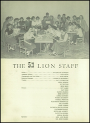 Kaufman High School - Lion Yearbook (Kaufman, TX) online yearbook collection, 1953 Edition, Page 10