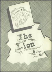 Page 7, 1953 Edition, Kaufman High School - Lion Yearbook (Kaufman, TX) online yearbook collection