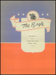 Page 7, 1944 Edition, Lindale High School - Eagle Yearbook (Lindale, TX) online yearbook collection
