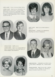 Page 17, 1969 Edition, Denver City High School - Mustang Yearbook (Denver City, TX) online yearbook collection
