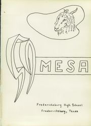 Page 5, 1959 Edition, Fredericksburg High School - Mesa Yearbook (Fredericksburg, TX) online yearbook collection