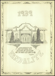 Page 5, 1939 Edition, Van High School - Vandalite Yearbook (Van, TX) online yearbook collection