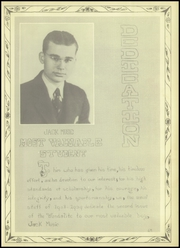Page 7, 1939 Edition, Van High School - Vandalite Yearbook (Van, TX) online yearbook collection