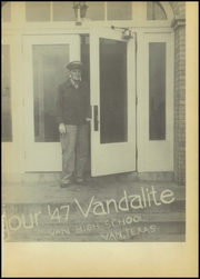 Page 5, 1947 Edition, Van High School - Vandalite Yearbook (Van, TX) online yearbook collection