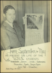 Page 6, 1947 Edition, Van High School - Vandalite Yearbook (Van, TX) online yearbook collection