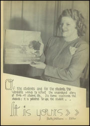 Page 7, 1947 Edition, Van High School - Vandalite Yearbook (Van, TX) online yearbook collection