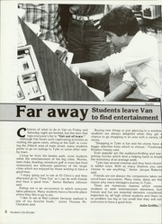 Page 10, 1985 Edition, Van High School - Vandalite Yearbook (Van, TX) online yearbook collection