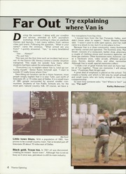 Page 8, 1985 Edition, Van High School - Vandalite Yearbook (Van, TX) online yearbook collection