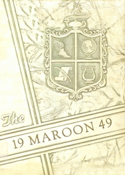 Atlanta High School - Maroon Yearbook (Atlanta, TX) online yearbook collection, 1949 Edition, Page 1