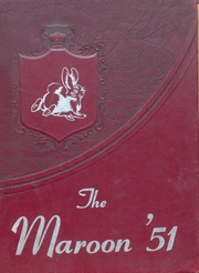 Atlanta High School - Maroon Yearbook (Atlanta, TX) online yearbook collection, 1951 Edition, Page 1