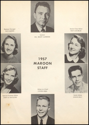 Page 8, 1957 Edition, Atlanta High School - Maroon Yearbook (Atlanta, TX) online yearbook collection