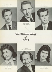 Page 8, 1959 Edition, Atlanta High School - Maroon Yearbook (Atlanta, TX) online yearbook collection