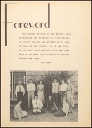 Page 7, 1949 Edition, Floresville High School - Tigers Claw Yearbook (Floresville, TX) online yearbook collection