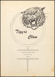 Page 7, 1950 Edition, Floresville High School - Tigers Claw Yearbook (Floresville, TX) online yearbook collection