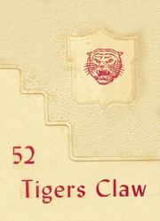 1952 Edition, Floresville High School - Tigers Claw Yearbook (Floresville, TX)
