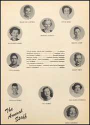 Page 11, 1952 Edition, Floresville High School - Tigers Claw Yearbook (Floresville, TX) online yearbook collection