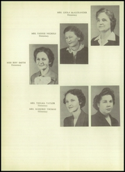 Page 16, 1950 Edition, Jefferson High School - Cypress Yearbook (Jefferson, TX) online yearbook collection