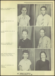 Page 11, 1948 Edition, Crystal City High School - Javelin Yearbook (Crystal City, TX) online yearbook collection