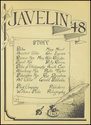 Page 5, 1948 Edition, Crystal City High School - Javelin Yearbook (Crystal City, TX) online yearbook collection