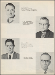 Page 12, 1960 Edition, Elgin High School - Wildcat Yearbook (Elgin, TX) online yearbook collection