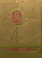 New Boston High School - Pine Cone Yearbook (New Boston, TX) online yearbook collection, 1951 Edition, Page 1