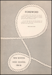 Page 8, 1955 Edition, New Boston High School - Pine Cone Yearbook (New Boston, TX) online yearbook collection
