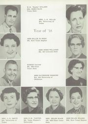 Page 11, 1958 Edition, Mineola High School - Badger Yearbook (Mineola, TX) online yearbook collection