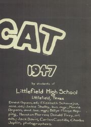 Page 5, 1947 Edition, Littlefield High School - Wildcat Yearbook (Littlefield, TX) online yearbook collection