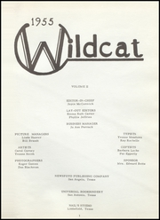 Page 5, 1955 Edition, Littlefield High School - Wildcat Yearbook (Littlefield, TX) online yearbook collection