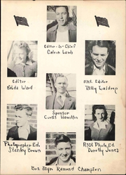Page 11, 1943 Edition, Slaton High School - Tigers Lair Yearbook (Slaton, TX) online yearbook collection