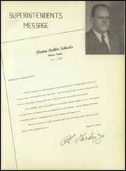 Page 11, 1955 Edition, Slaton High School - Tigers Lair Yearbook (Slaton, TX) online yearbook collection